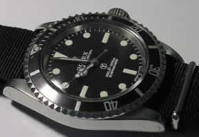 The cleaned Submariner.
